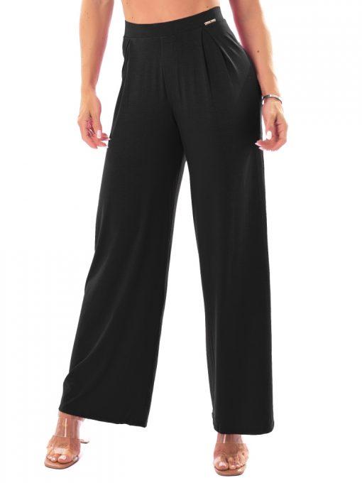 Let's Gym Fitness Heaven Wide Pants - Black
