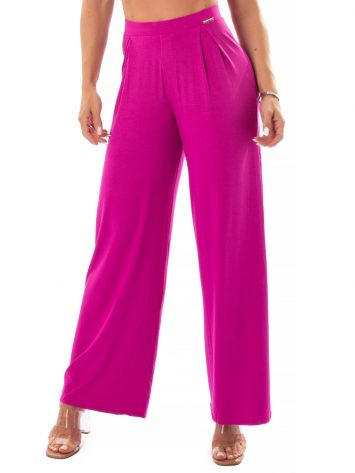 Let's Gym Fitness Heaven Wide Pants – Pink