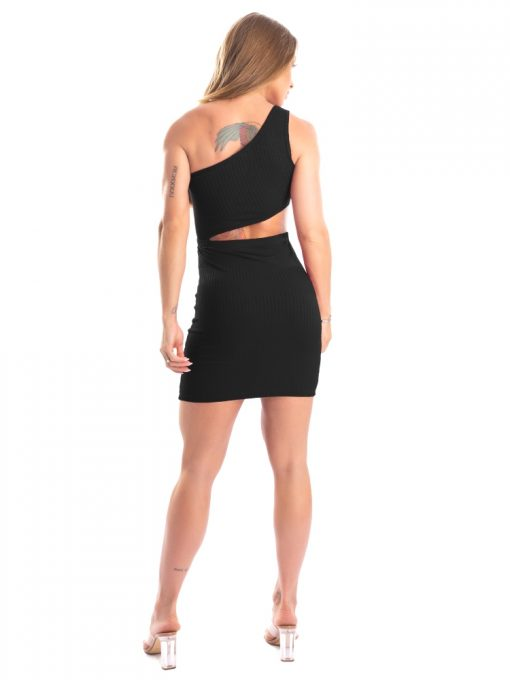 Let's Gym Fitness - Youth Ribbed Dress - Black