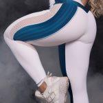 Trincks Fitness Activewear Woman 3D Legging - Blue/White