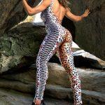 Dynamite Brazil Jumpsuit Jaguar - Animal Print