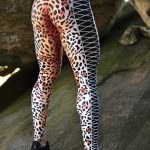 DYNAMITE BRAZIL Leggings Jaguar Fitness - Animal Print