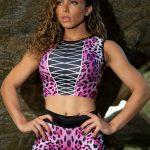DYNAMITE Brazil Cropped Blouse Jaguar - La Peche