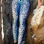 DYNAMITE BRAZIL Leggings Jaguar Blue