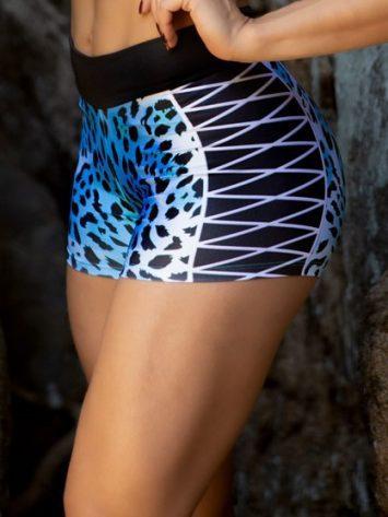 DYNAMITE BRAZIL Jaguar Shorts – Blue