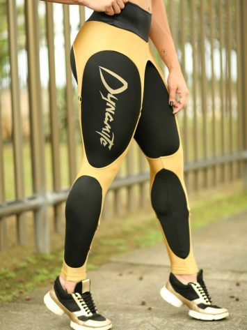 DYNAMITE Brazil Leggings Lolly – Black Gold