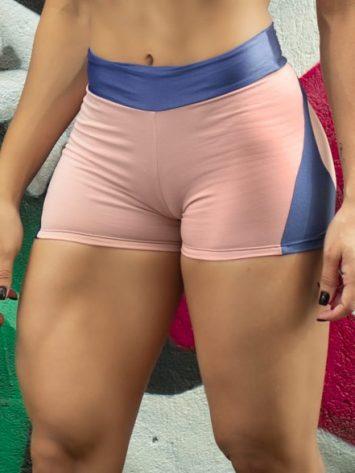 DYNAMITE BRAZIL Shorts Apple Booty Shorts – Rosa Royal Blue
