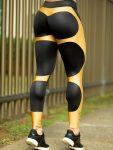 DYNAMITE Brazil Leggings Apple Booty Beryl - Black Gold